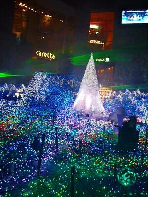 カレッタのクリスマスイルミネーション