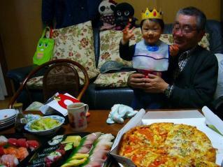 ゆーひ君お誕生日パーティー2011