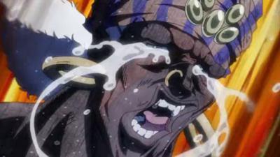 アニメ ジョジョ:エシディシ泣き顔