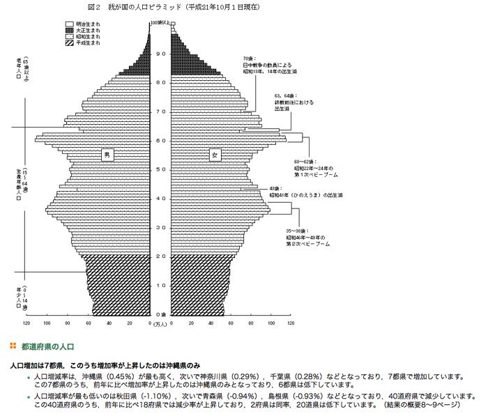2010年人口ピラミッド