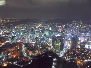ソウル夜景