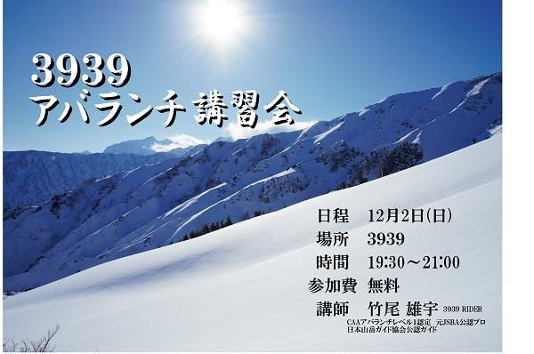 3939アバランチ2012