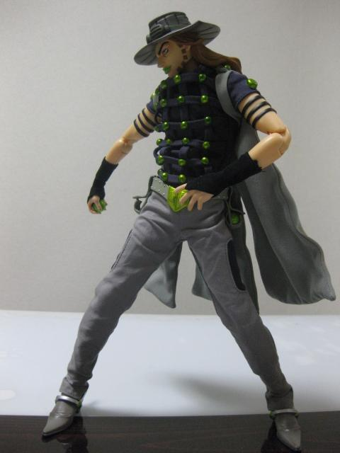 JOJO'S BIZARRE ADVENTURE - STEEL BALL RUN - Gyro Zeppeli - (RAH 429) 20100527125851293