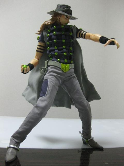JOJO'S BIZARRE ADVENTURE - STEEL BALL RUN - Gyro Zeppeli - (RAH 429) 20100527125858433