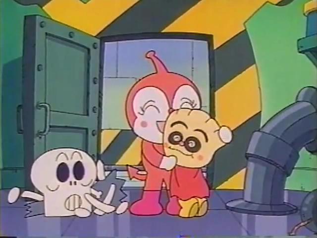 アンパンマンとクリームパンダ