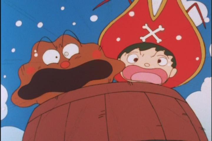 アンパンマンと海賊ロブスター