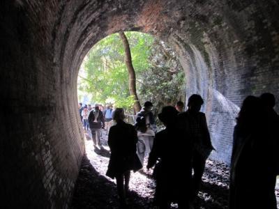 廃トンネル群秋の特別公開