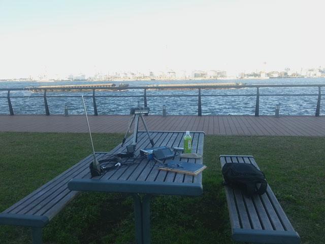 2012年11月10日 東扇島東公園でDX