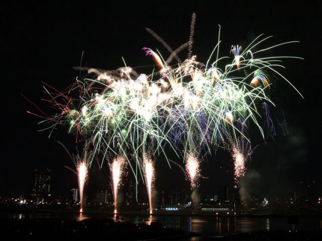 2012年足立の花火大会(1)
