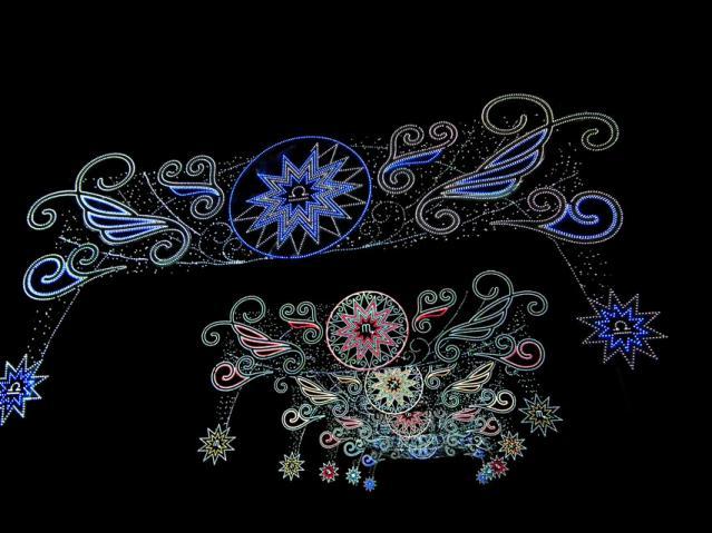 さがみ湖イルミリオン2012-2013 「光のゲート」(1)