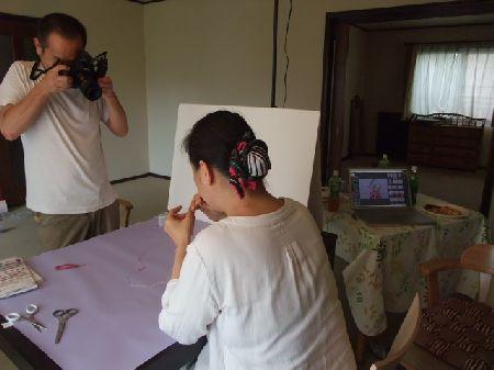プロセス撮影
