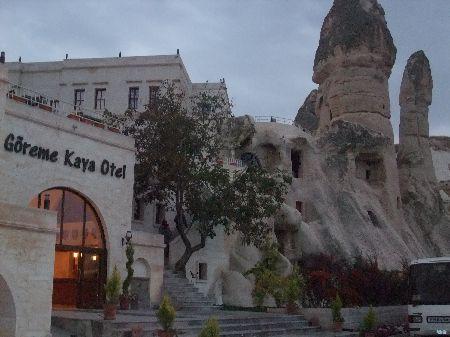 洞窟ホテル