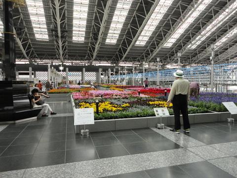 JR大阪駅フラワーアートミュージアム②