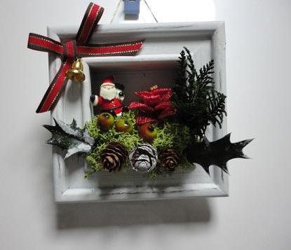 クリスマス飾りー1DAYレッスンで②
