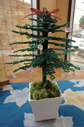 知人のところでクリスマスツリー
