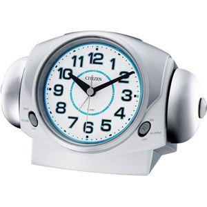 シチズン 置時計 バトルパワーR634 8RA634-003・白