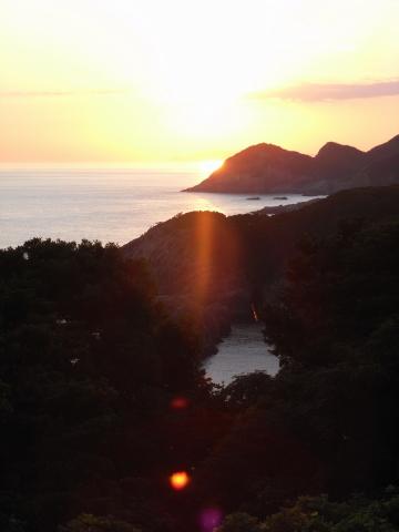 トオルマの夕日