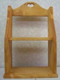 木製調味料棚