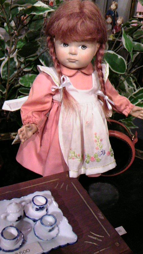 アンティークドール、ビスクドール、創作人形、球体関節人形、ヨーロッパのお人形広場