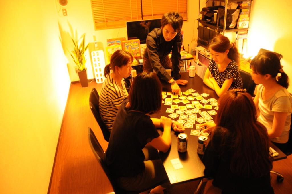ドイツゲームスペース@Shibuya20110921‐1