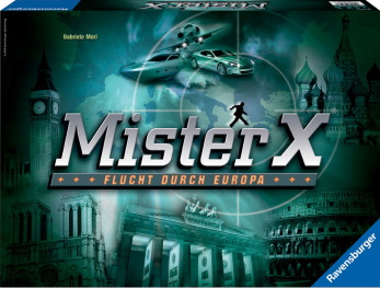 ドイツゲームミスターX4