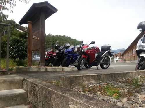 熊野本宮館駐車