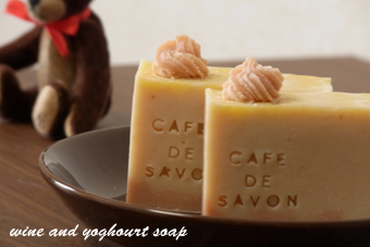 wine and yoghourt soap 2