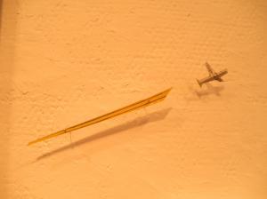 展示飛行機