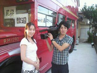 千葉TVカメラマンさん