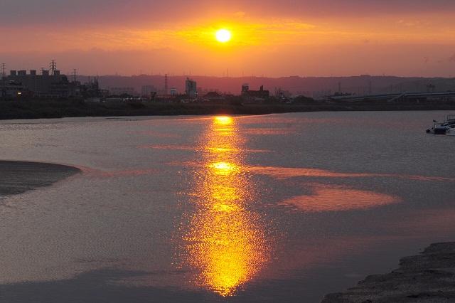 夕日の造形美(2)