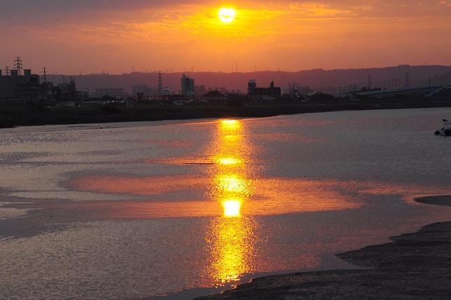 夕日の造形美(1)