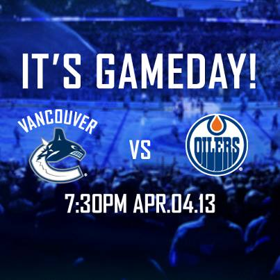April 4 canucks