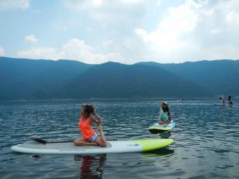 summer camp sup yoga1
