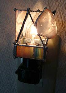 天然石ランプ
