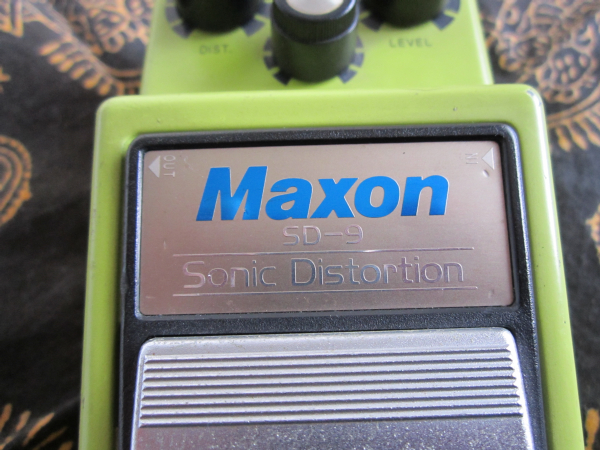 maxon sonic distortion sd-9 01