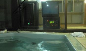 カラオケ風呂