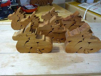 辰組木量産