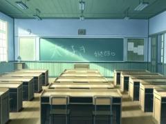 教室アニメ