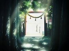 神社アニメ