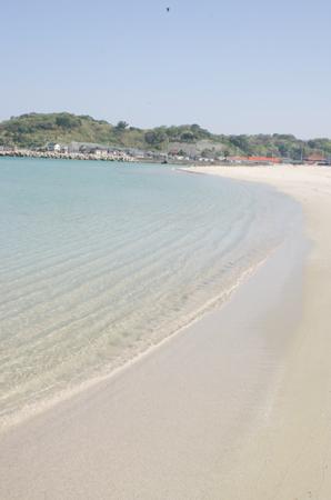 下関市にある小串の海岸