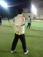 某テニススクールチーフコーチ