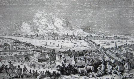 パリの大火無題