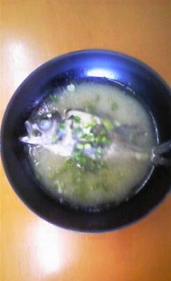 メバル味噌汁