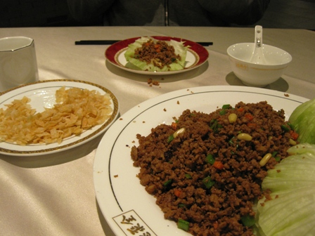 blog_ダックのひき肉のレタス包み080210