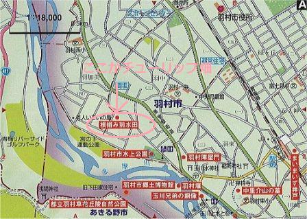 羽村MAP