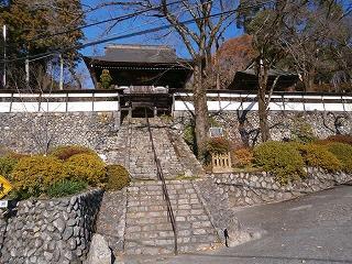 山門・石垣