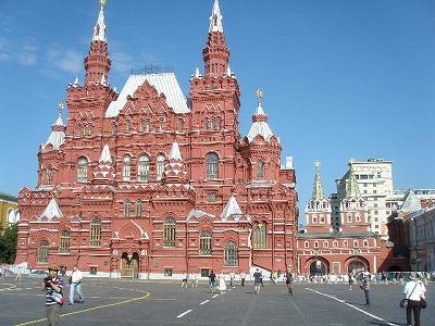 モスクワ赤広場