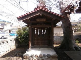 熊野神社蚕