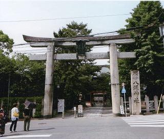 八坂神社鳥居044