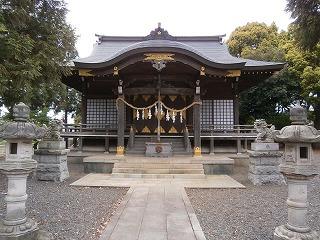 浮島神社本殿